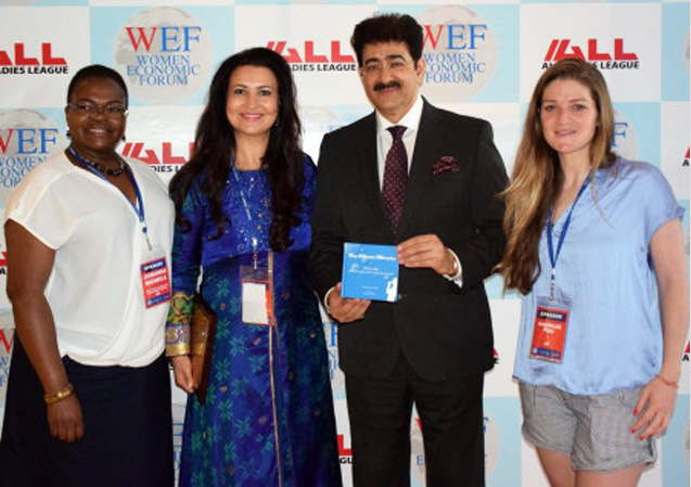 Sandeep Marwah Released The Book of Hannilee Fish- One Minute Miracles