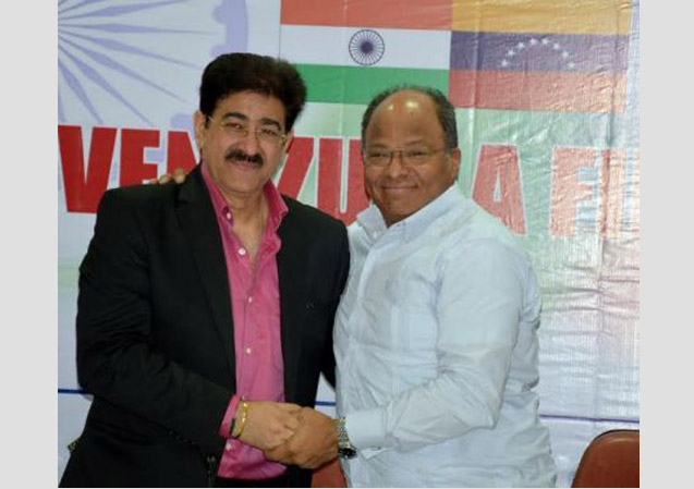 Sandeep Marwah Honored by Government of Venezuela