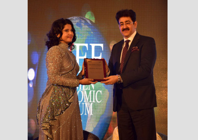 Icon of The Decade Award to Sandeep Marwah