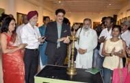 Exhibition of Paintings Myriad Hues Inaugurated by Sandeep Marwah