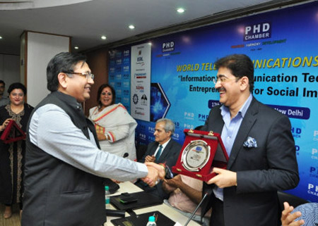Sandeep Marwah Chaired World Telecommunication Day Seminar