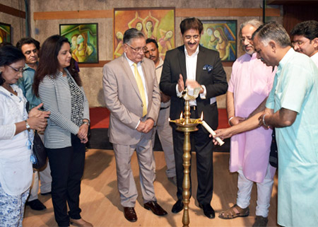 Painting Exhibition of Beenu Gupta at Marwah Studios