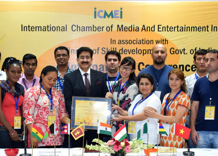 Sandeep Marwah Designated Global Cultural Minister at International Conference