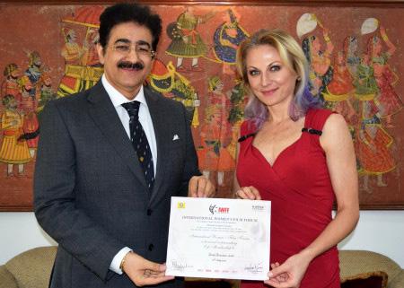 ICMEI Promoting Bosnia Personality Vesna Pericevic Jacob