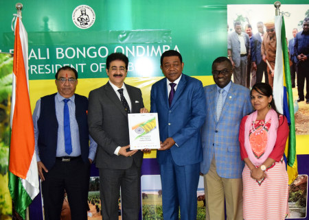 ICMEI Handed Over AAFT Scholarship to Embassy of Gabon