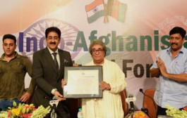 Sandeep Marwah Honored by Afghanistan Cultural Fraternity