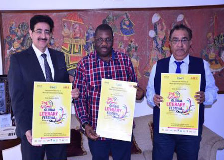 Poster of Global Literary Festival Noida Launched