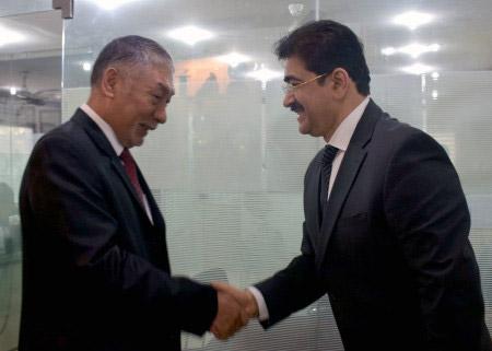 Sandeep Marwah With Ambassador of Bhutan to India