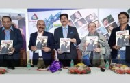A book on Sandeep Marwah Released at Delhi International Film Festival