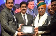 Sandeep Marwah Honored Arjun Ram Meghwal at NAI Awards