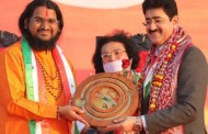 Sandeep Marwah Honored With Pride Of India at Goa