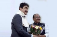 Sandeep Marwah Appreciated By Chief Minister of Goa