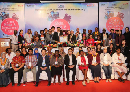 Sandeep Marwah Nominated Global Cultural Minister at International Summit