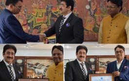 Kalinga University Appreciated The Efforts of Sandeep Marwah