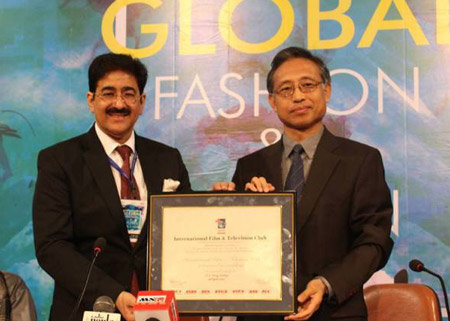 Super Opening Of First Global Fashion And Design Week At Aaft Asian News Agency