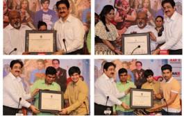 Team of Feature Film Laali Ki Shadhi Mein Laadoo Dewana at Marwah Studios