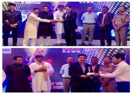 Sandeep Marwah Honored With Pride of Gautam Budh Nagar Award