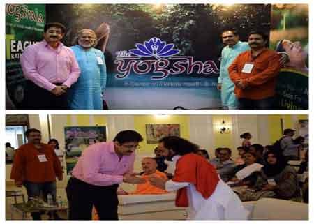 International Yoga Day Celebrated 0n 21st June
