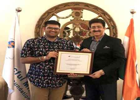 Sandeep Marwah Nominated Vice Chair for Peacful Mind Foundation