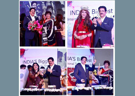 Sandeep Marwah Launched Products at International Beauty Exhibition