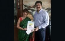 Mridula Tandon Nominated Co Director Global Literary Festival