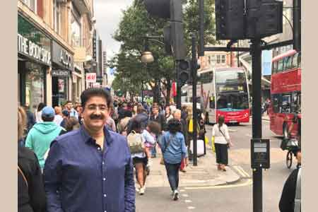 Trained Manpower Has Scope in London Tourism Industry- Sandeep Marwah
