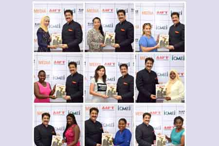 Sandeep Marwah Appreciated at International Peace Summit