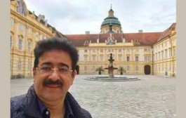 WPDRF President Sandeep Marwah at Melk Abbey