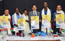 First Poster of 3rd Global Literary Festival Noida 2017 Released