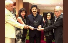 Sandeep Marwah Honored at Budapest, Hungary