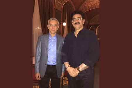 Sandeep Marwah Met Indian Ambassador to Hungary