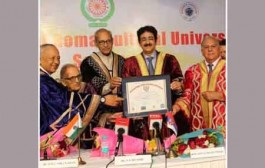 Sandeep Marwah Honored With Doctorate Degree by Serbian University