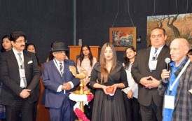 Painting Exhibition of Donald Green Opened at 10th GFFN