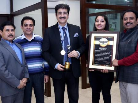 Vajra World Record for Sandeep Marwah