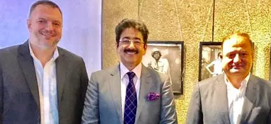Sandeep Marwah Special Guest at Georgian Photography Week