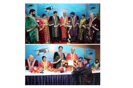 Convocation of School of Cinema Animation & Performing Arts of ASMS