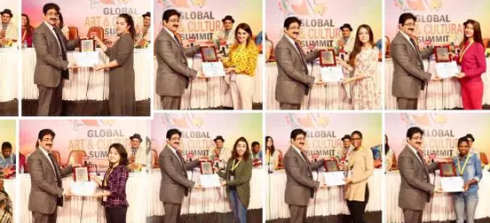 Global Art And Cultural Summit Held at Marwah Studios