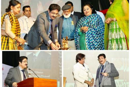Once Again Sandeep Marwah in Vajra World Records Book