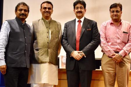 Sandeep Marwah Inaugurated Film Appreciation Course at Udaan