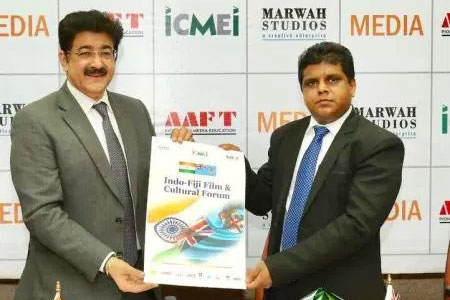 Sandeep Marwah On The Board of PM's Program of Village Development