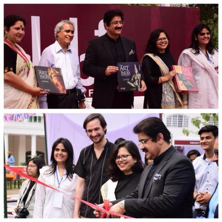 Sandeep Marwah Inaugurated New Delhi Art Book Fair at IGNCA