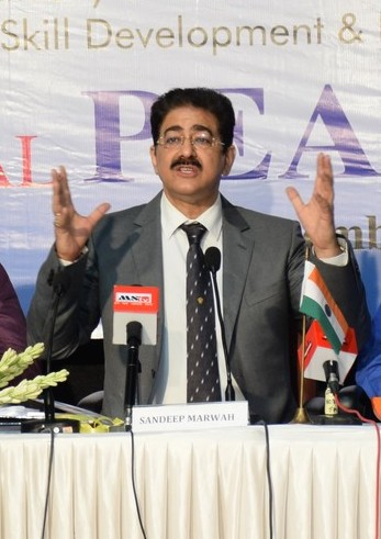 Sandeep Marwah Addressed NACOF Meeting