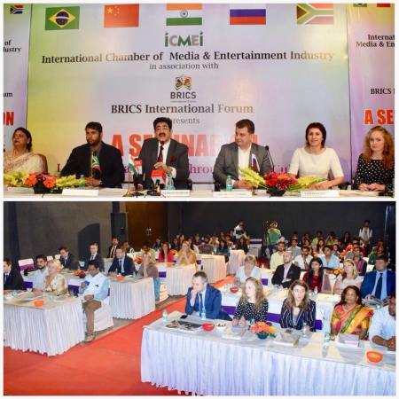 Indo Russian Film And Cultural Forum Launched at BRICS Summit