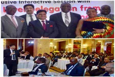 Sandeep Marwah Speaker at Ghana Summit