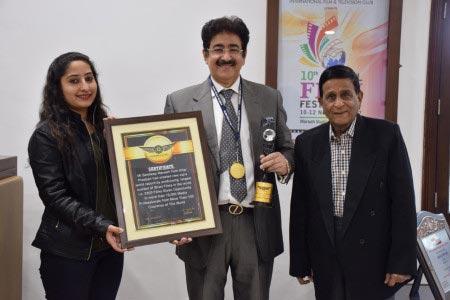 3rd Vajra World Record For Sandeep Marwah