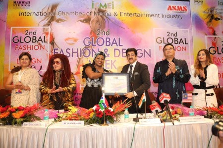 Sandeep Marwah Crowned Chair by Gambian Government