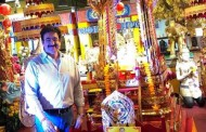 Global Culture Minister Sandeep Marwah in Thailand