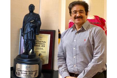 Dadasaheb Phalke Film Award for Sandeep Marwah
