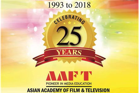 Celebration of Twenty-Five Years of AAFT Started