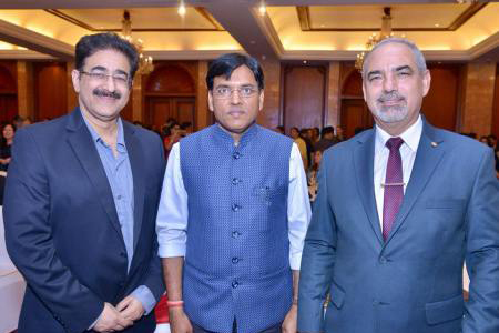 Sandeep Marwah Special Guest at Paraguay National Day